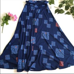 LuLaRoe Maxi Long Skirt Size XS NEW